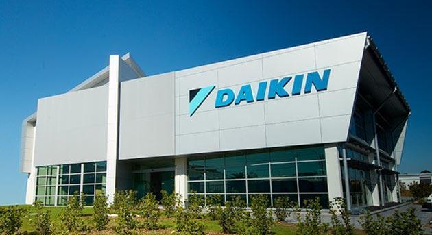 Dystrybucja Daikin - fabryka