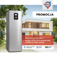 Pakiet z pompą ciepła Calibra Eco taniej o 6500 zł netto!